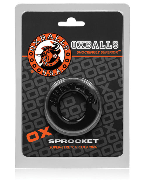 Oxballs Atomic Jock Sprocket Cockring - Red - Casual Toys