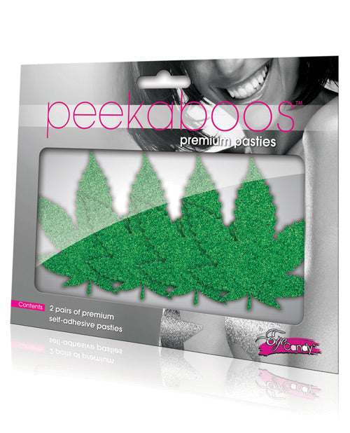 Peekaboos Mary Jane Pasties - 2 Pairs - Casual Toys