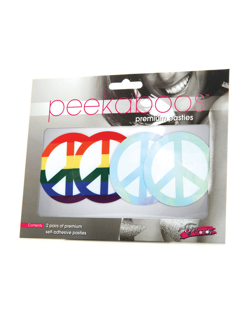 Peekaboos Pride Peace Sign - Pack Of 2 - Casual Toys