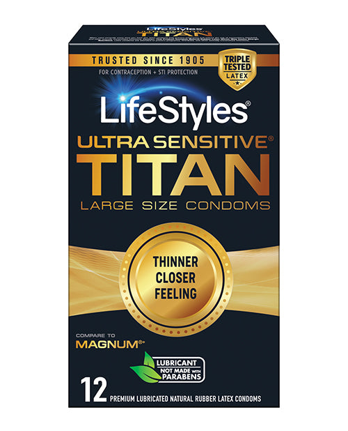 Ultra Sensitive Titan - Pack Of 12 - Casual Toys