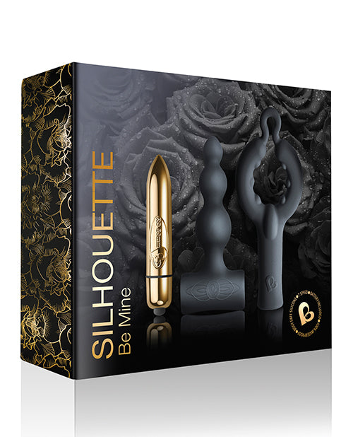 Rocks Off Dark Desires Be Mine Kit - Black-champagne Gold - Casual Toys