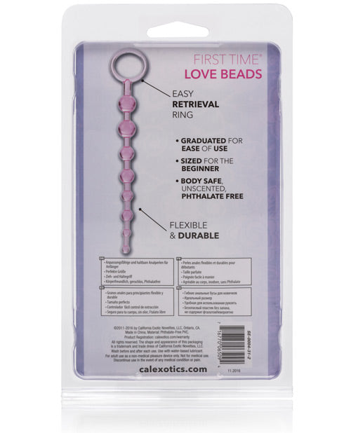 First Time Love Beads - Purple - Casual Toys