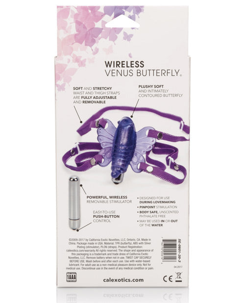 Wireless Venus Butterfly - Purple