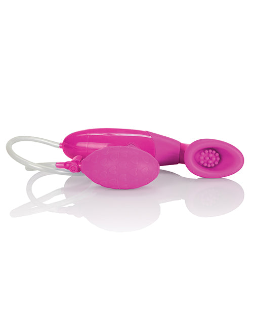 Intimate Pumps Silicone Clitoral Pumps Waterproof - Pink