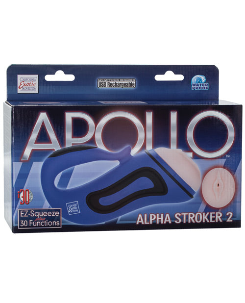 Apollo Alpha Stroker 2 - Blue Vagina - Casual Toys