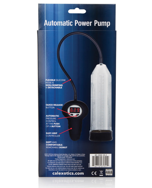 Apollo Automatic Power Pump - Clear - Casual Toys