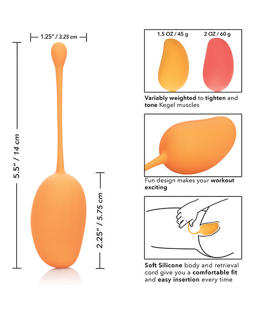 Kegel Training Set - Mango