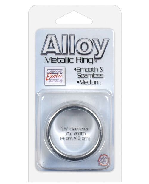 Alloy Metallic Ring - Medium - Casual Toys