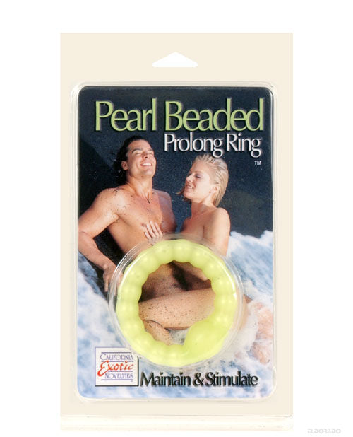 Pearl Beaded Prolong Ring - Glow - Casual Toys