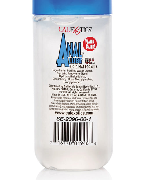 Anal Lube - 6 Oz Cherry Scent - Casual Toys