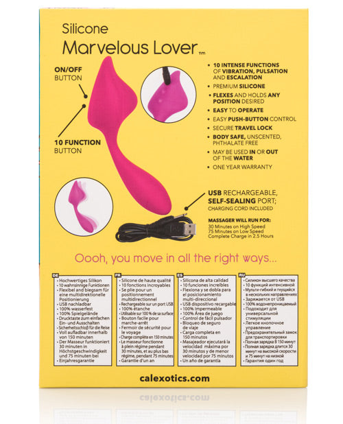 Mini Marvels Silicone Marvelous Lover