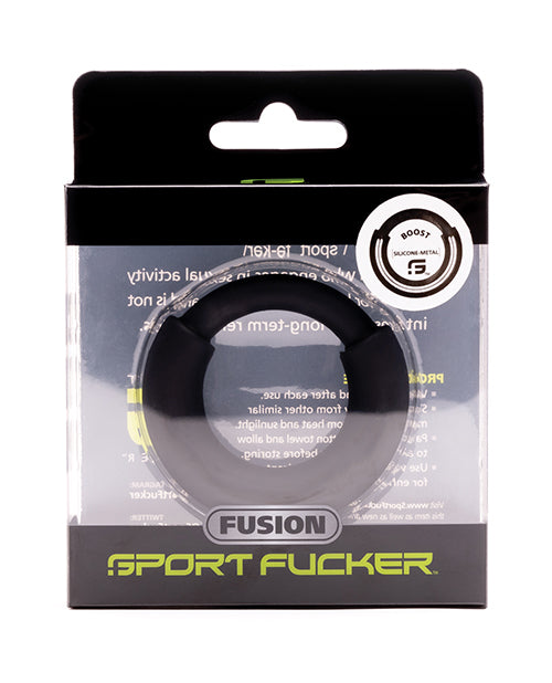 Sport Fucker Fusion Boost Ring Mm - Black - Casual Toys