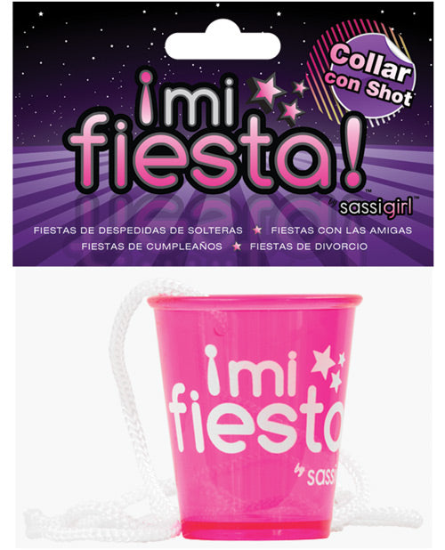 Mi Fiesta Collar Con Shot By Sassi Girl - Pink - Casual Toys