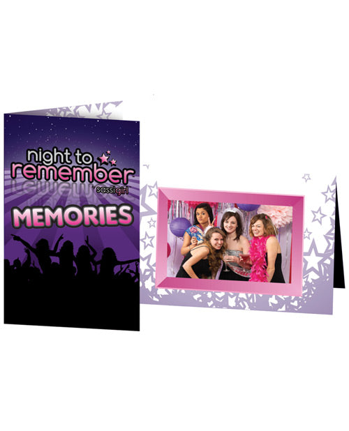 Night To Remember Photo Frame By Sassigirl - Purple Pack Of 6 - Casual Toys