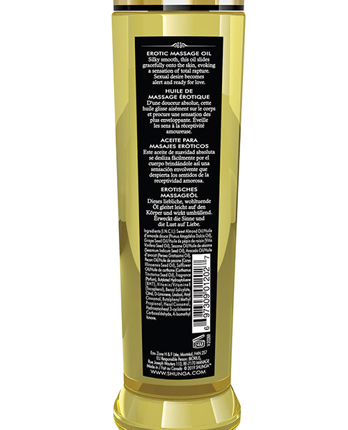 Shunga Erotic Massage Oil - 8 Oz Libido-exotic Fruits - Casual Toys