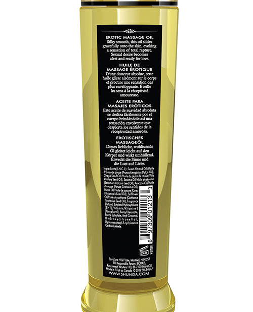 Shunga Erotic Massage Oil - 8.5 Oz Monoi - Casual Toys