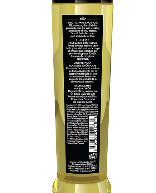 Shunga Massage Oil - 8 Oz Asian Fusion - Casual Toys