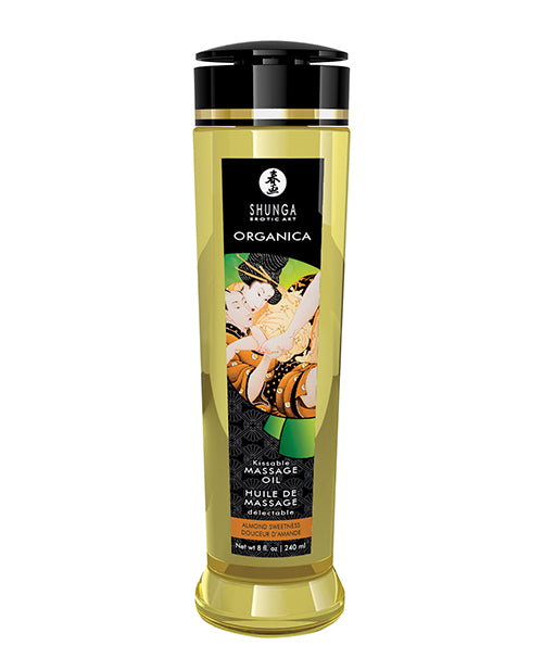 Shunga Organica Kissable Massage Oil - 8 Oz - Casual Toys