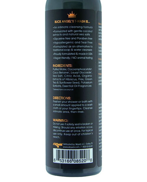 Sliquid Buck Angel T Wash - 8.5 Oz - Casual Toys