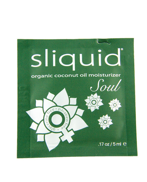 Sliquid Soul Cube Lubricant Pillow - .17 Oz - Casual Toys