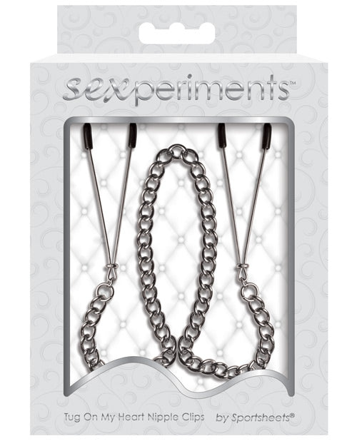 Sexperiments Tug On My Heart Nipple Clamps