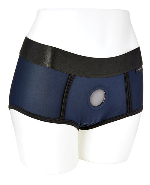 Sportsheets Em.ex. Fit Harness - Blue - Casual Toys