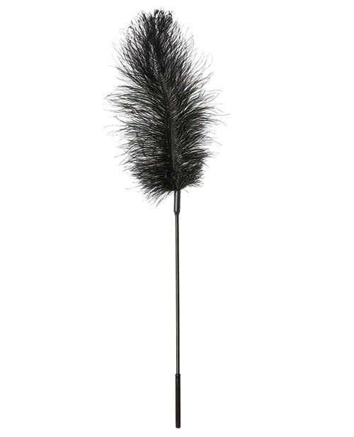 Sportsheets Body Tickler Ostrich Feather - Black - Casual Toys
