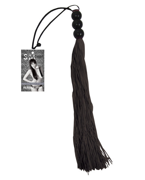 Sex & Mischief Medium Whip - Black - Casual Toys