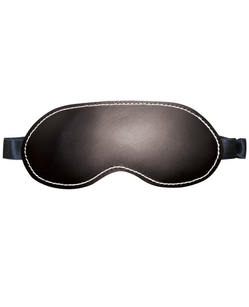 Edge Leather Blindfold - Casual Toys