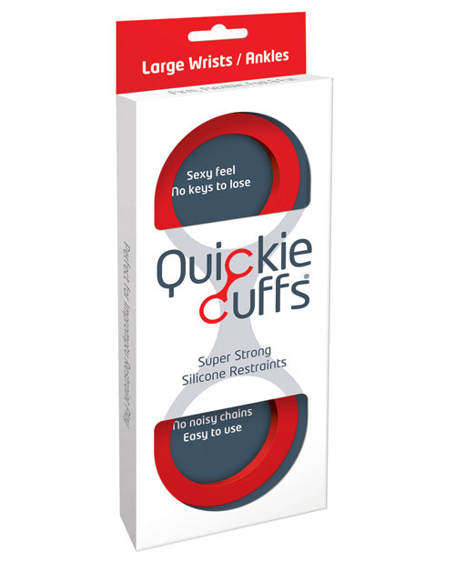 Quickie Cuffs Medium - Red - Casual Toys