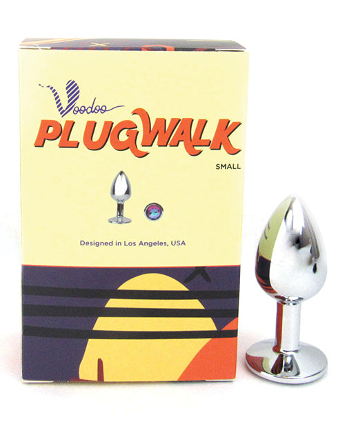 Voodoo Walk Small Metal Plug - Silver