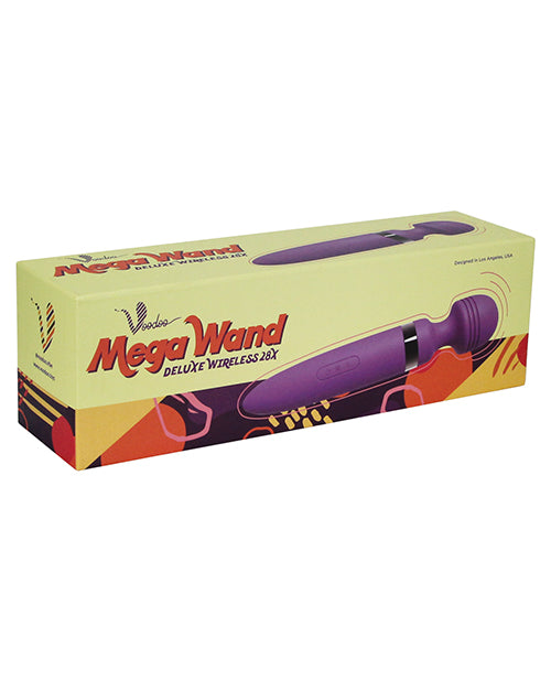 Voodoo Deluxe Mega Wand 28x - Purple - Casual Toys