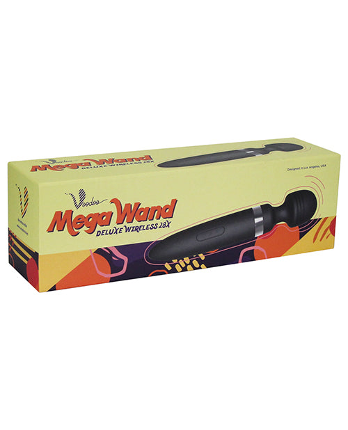 Voodoo Deluxe Mega Wand 28x - Pink - Casual Toys