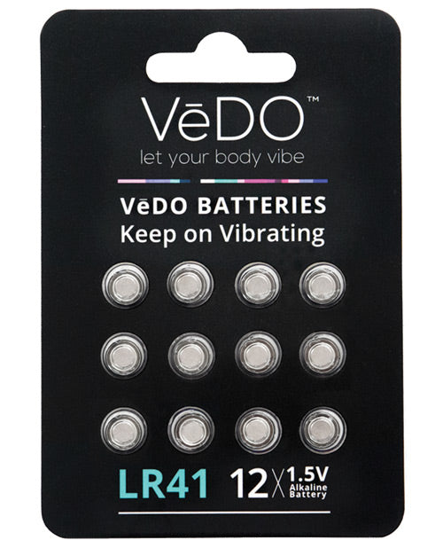 Vedo Lr41 Batteries - 1.5v Pack Of 12 - Casual Toys