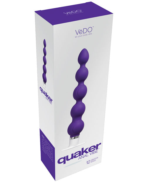 Vedo Quaker Anal Vibe - Midnight Madness - Casual Toys