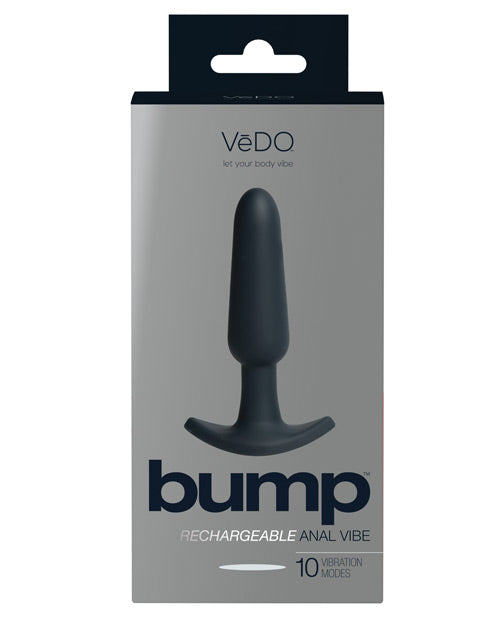 Vedo Bump Rechargeable Anal Vibe - Deep Purple