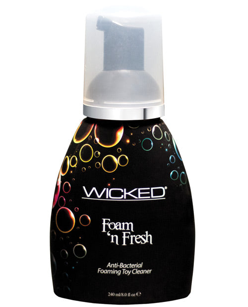 Wicked Sensual Care Foam N Fresh Anti-bacterial Foaming Toy Cleaner - 8 Oz - Casual Toys
