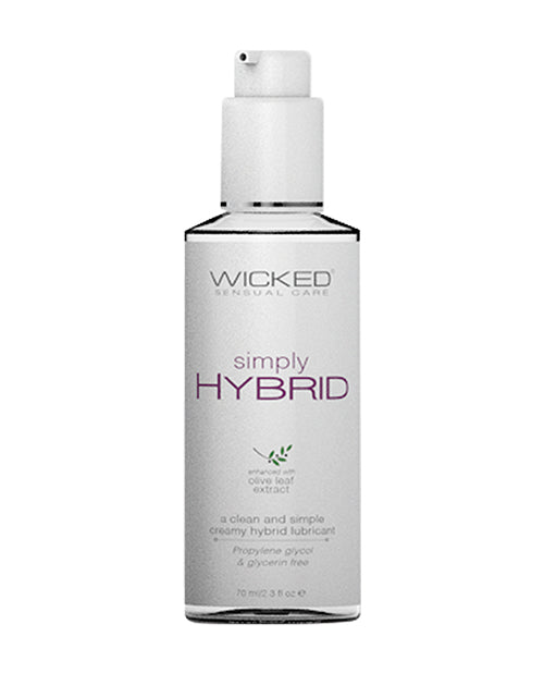 Wicked Sensual Care Simply Hybrid Lubricant - Fragrance Free - Casual Toys