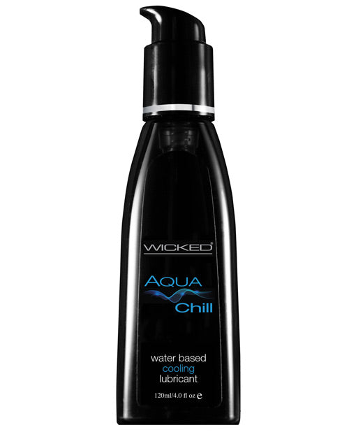 Wicked Sensual Care Chill Cooling Waterbased Lubricant - 4 Oz - Casual Toys