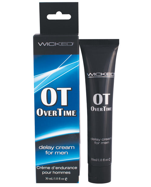 Wicked Sensual Care Overtime Delay Cream-prolonger For Men - 1 Oz - Casual Toys