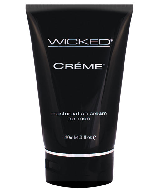 Wicked Sensual Care Creme Masturbation Cream For Men Silicone Based - 4 Oz - Casual Toys