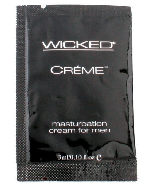 Wicked Sensual Care Creme Masturbation Cream For Men - .1 Oz - Casual Toys
