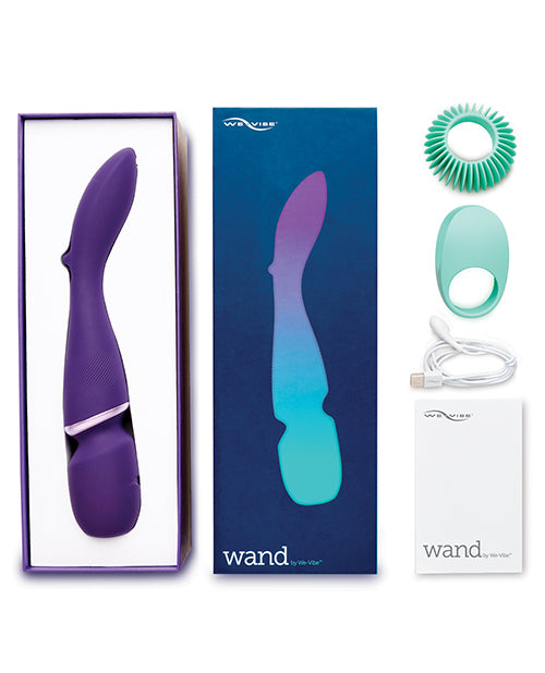 We-vibe Wand W-two Attachments - Purple - Casual Toys