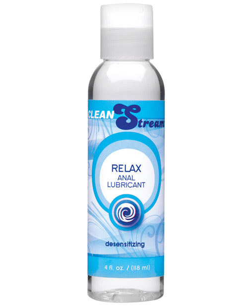 Cleanstream Relax Desensitizing Anal Lube - 4 Oz - Casual Toys