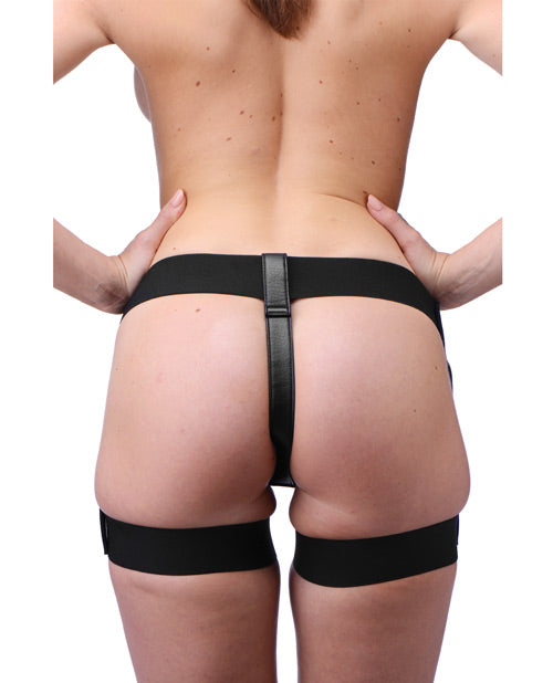 Strap U Bardot Elastic Strap-on Harness W-thigh Cuffs - Casual Toys