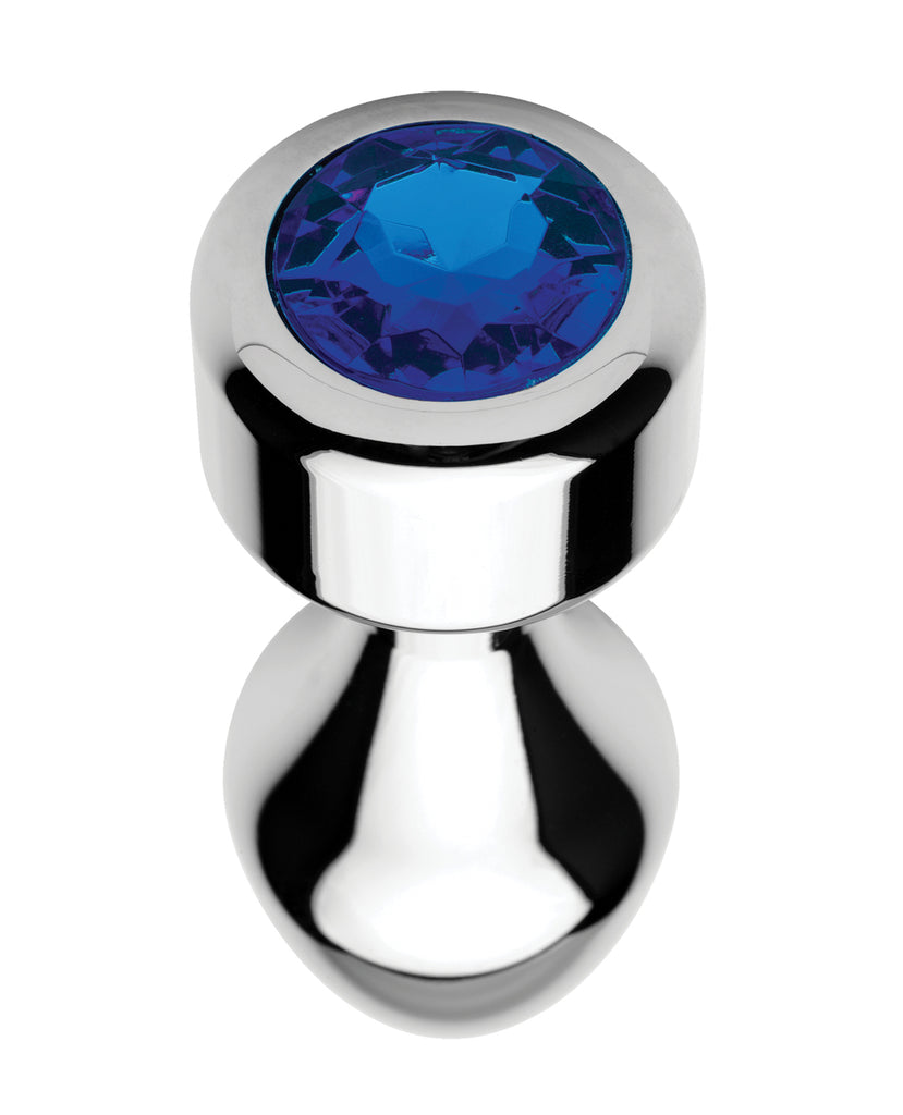 Bootysparks Weighted Blue Gem Anal Plug