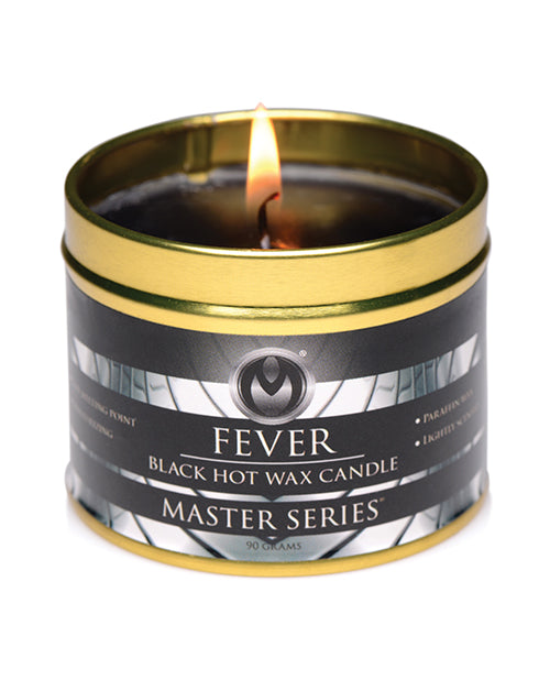 Master Series Fever Drip Candle - Black - Casual Toys