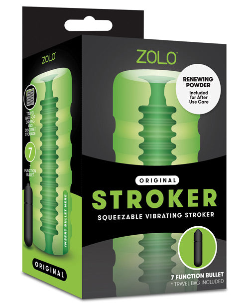 Zolo Original Squeezable Vibrating Stroker - Casual Toys