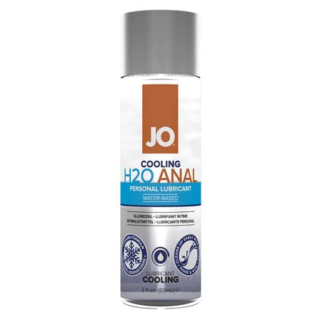JO H2O Anal - Cooling - Lubricant (Water-Based) 2 fl oz - 60 ml - Casual Toys