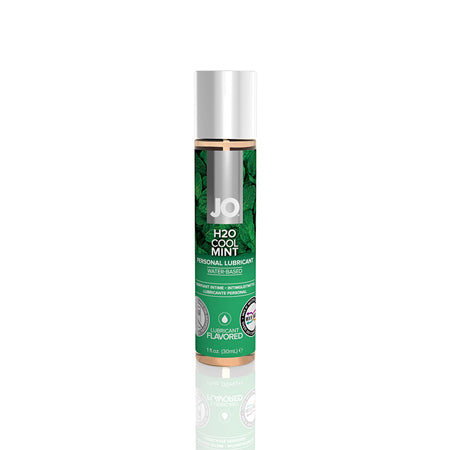 JO H2O - Mint - Lubricant (Water-Based) 1 fl oz - 30 ml - Casual Toys